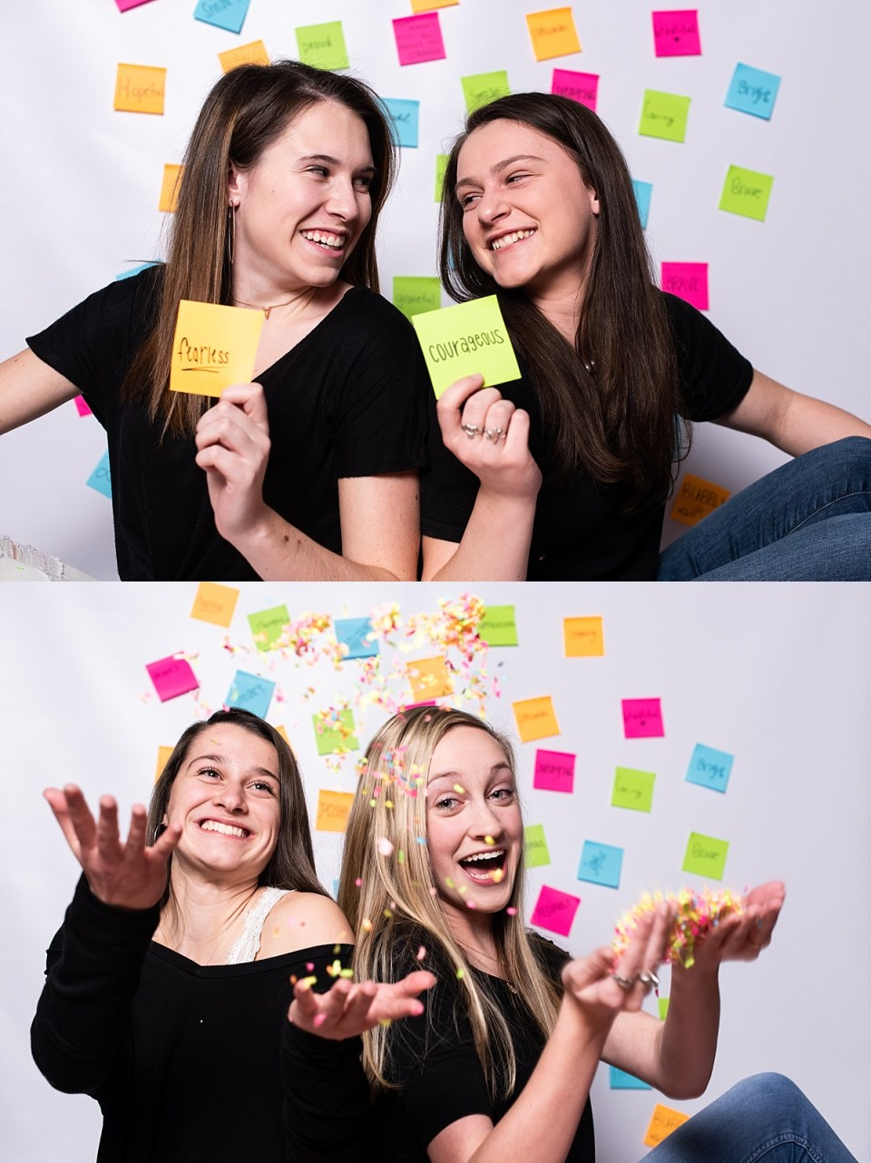 sticky notes, laura matthews, senior, vip team, glen allen, richmond, virginia