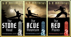 G.R. Matthews, Forbidden List (trilogy)