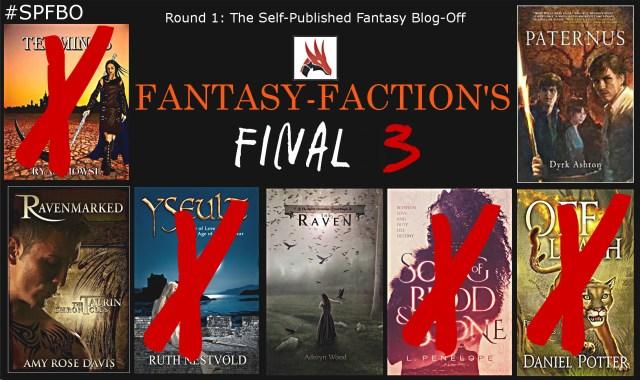 SPFBO Semi-Finalists: Fantasy-Faction's remaining three