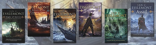 The Malazan Empire series by Ian C. Esslemont