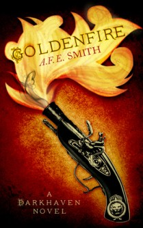 Goldenfire (Darkhaven #2) by A.F.E. Smith