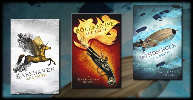 Darkhaven, Goldenfire, Windsinger by A.F.E. Smith
