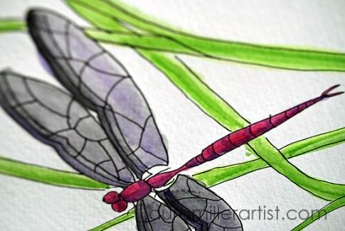 2dragonfly symbol laura miller artist
