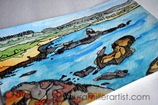 7seascape sketch laura miller artist