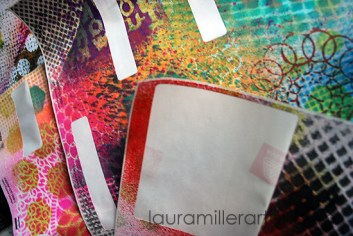 11art journal labels