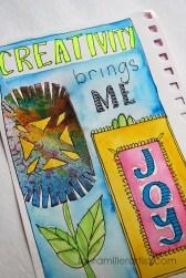 1wycinanki art journal words