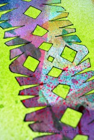 4wycinanki paper cut art journal