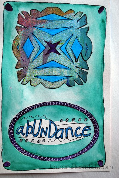 8wycinanki art journal words