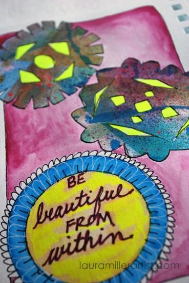 9wycinanki art journal words