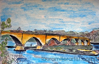 3sketch your walk old bridge