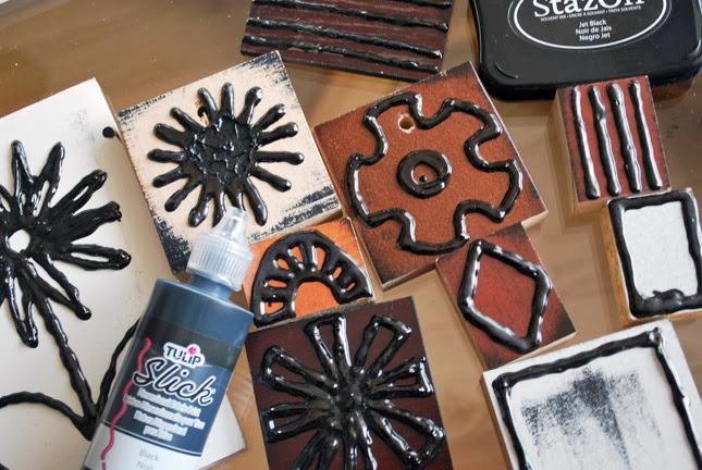 tulip-slick-handmade-stamps-laura-miller-artist-livividli