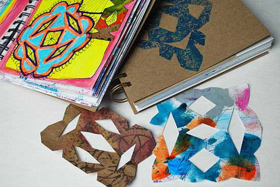15art journal multi color