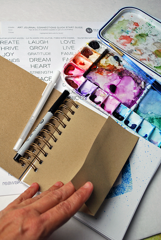 18art journal multi color