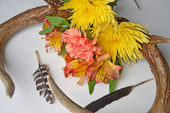 4antler flowers