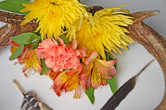5antler flowers