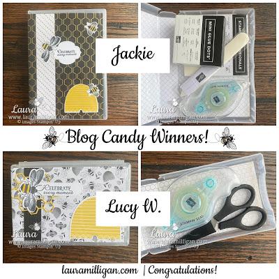 My Million Dollar Sales Blog Candy Winners!