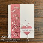 Create this fun card with the Lots of Hearts Bundle from Stampin