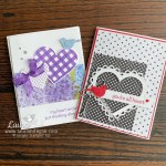 Handmade card with Stampin