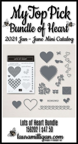 Lots of Heart Bundle , My Top Pick, Laura Milligan, Shop Online 156202 _ $47.50