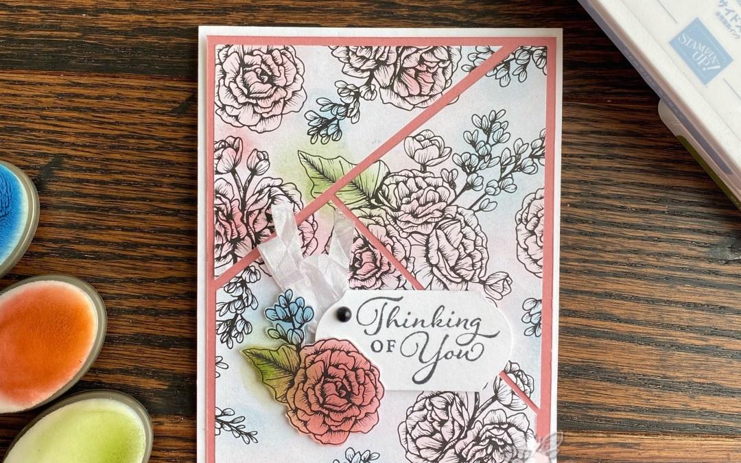 Blending Brushes & True Love Designer Series Paper!