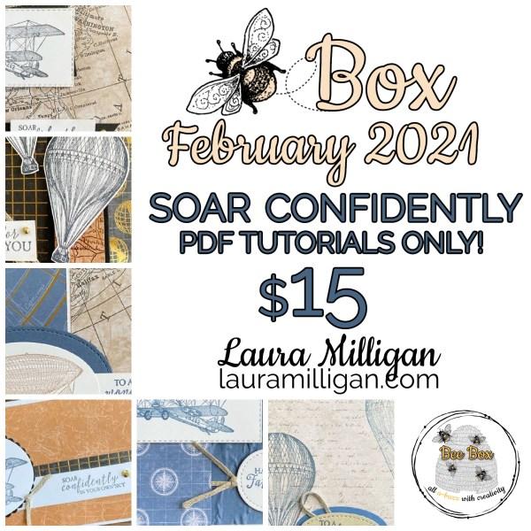 LAURA MILLIGAN BEE BOX FEBRUARY 2021 PDF Tutorial OnlyLAURA MILLIGAN BEE BOX FEBRUARY 2021 PDF Tutorial Only