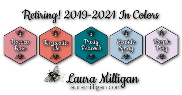 Retiring Stampin' Up! In Colors 2019-2021