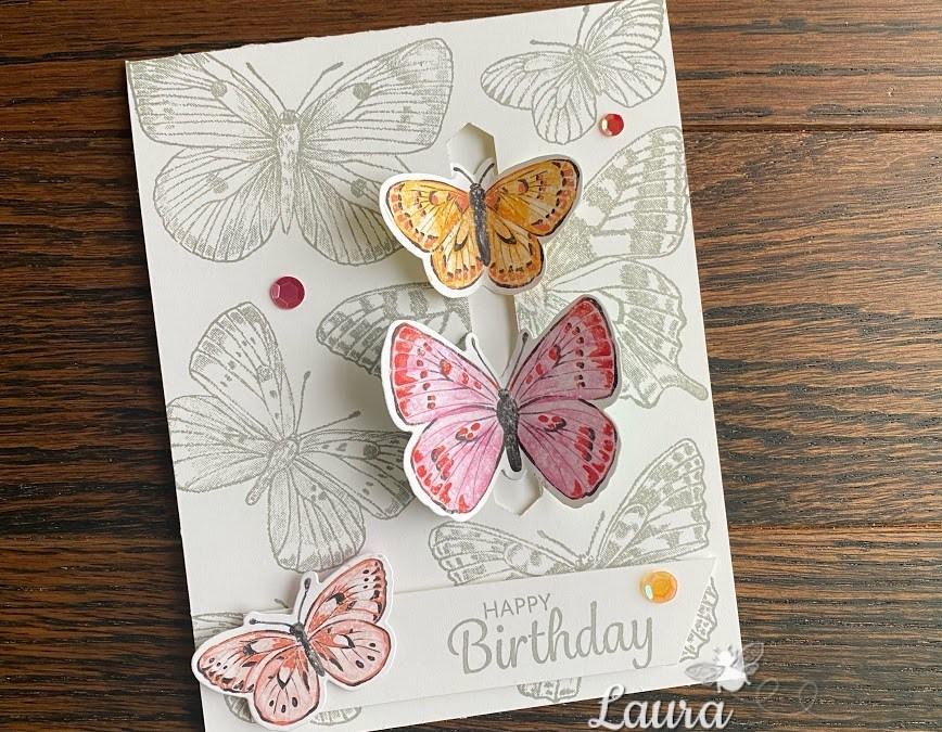 Available NOW! Butterfly Brilliance Collection by Stampin' Up!