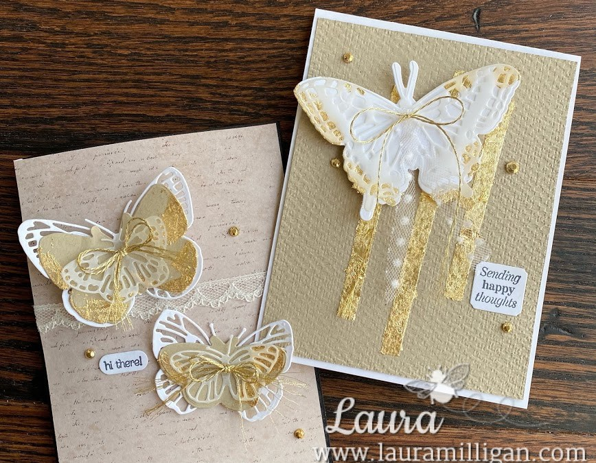 Butterfly Brilliance Collection & Gilded Leafing by Stampin' Up!