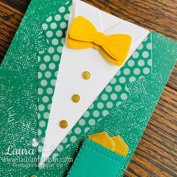 leprechaun card for st patricks day laura milligan demonstrator