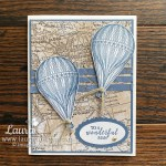 make this hand stamped card Soar Confidently Laura Milligan Demonstrator Free Product