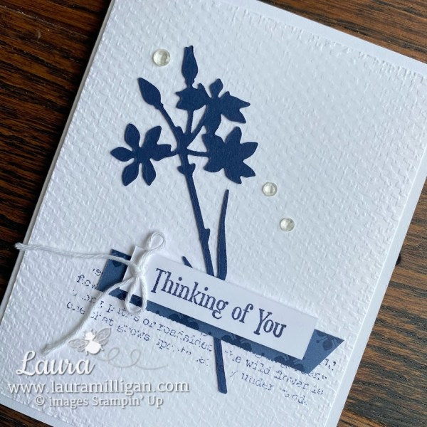quiet meadow homemade cards by Laura Milligan Earn Free Product Stampin' Up!