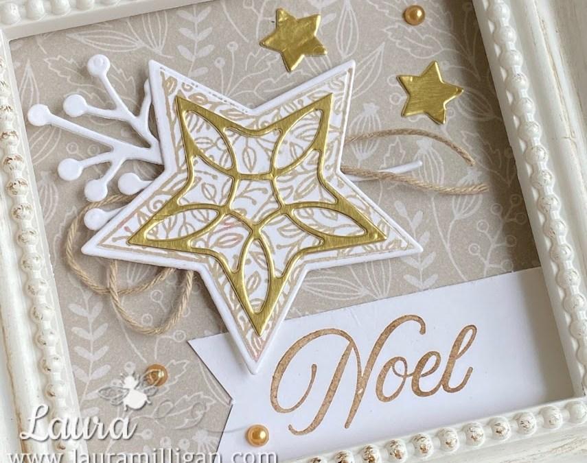 Tidings of Christmas – Slimline Card & Framed Art
