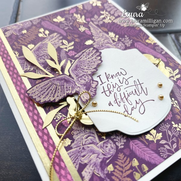 Beauty of Tomorrow Stamp Set by Stampin' Up! Card by Laura Milligan, I'd Rather Bee Stampin'. Order Online 24-7