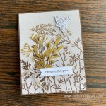create this blackberry beauty card by Laura Milligan Stampin