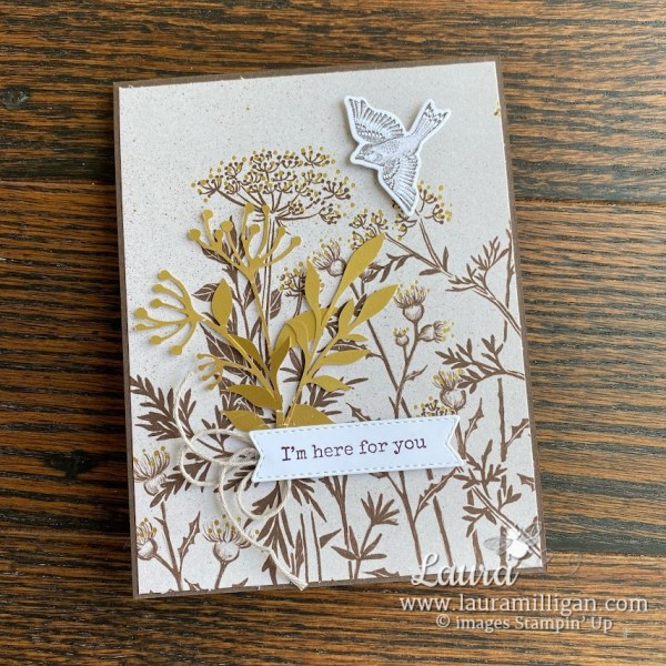 create this blackberry beauty card by Laura Milligan Stampin' Up! Earn Free product through me