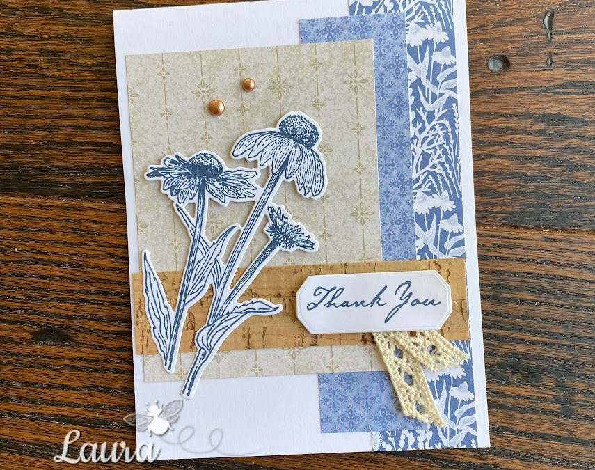Stampin' Up! Harvest Meadow Suite Thank You Card