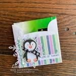 penguin place tea bag holder Stampin