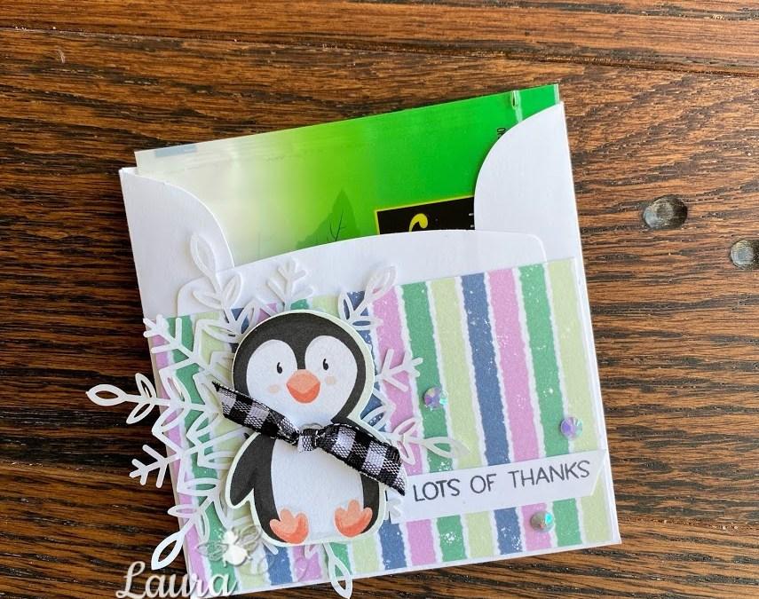 Stampin' Up! Penguin Place Teabag Holder & Card