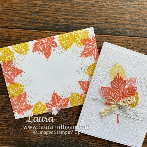 Envelope Idea #2 by Laura Milligan Stampin' Up! Demonstrator - Earn Free Product