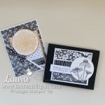 create these cards with free saleabration rewards - beautifully penned by Laura Milligan Stampin Up!