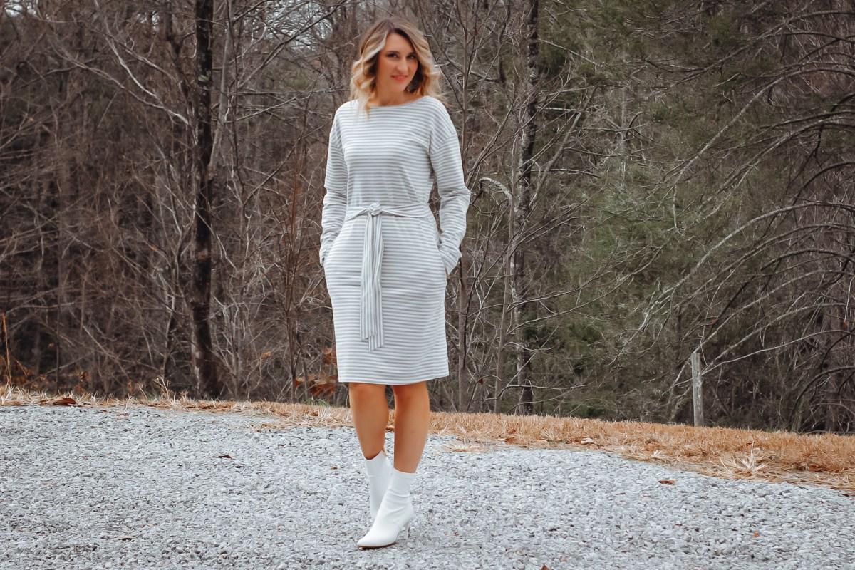 Striped Dress Amazon Fashion