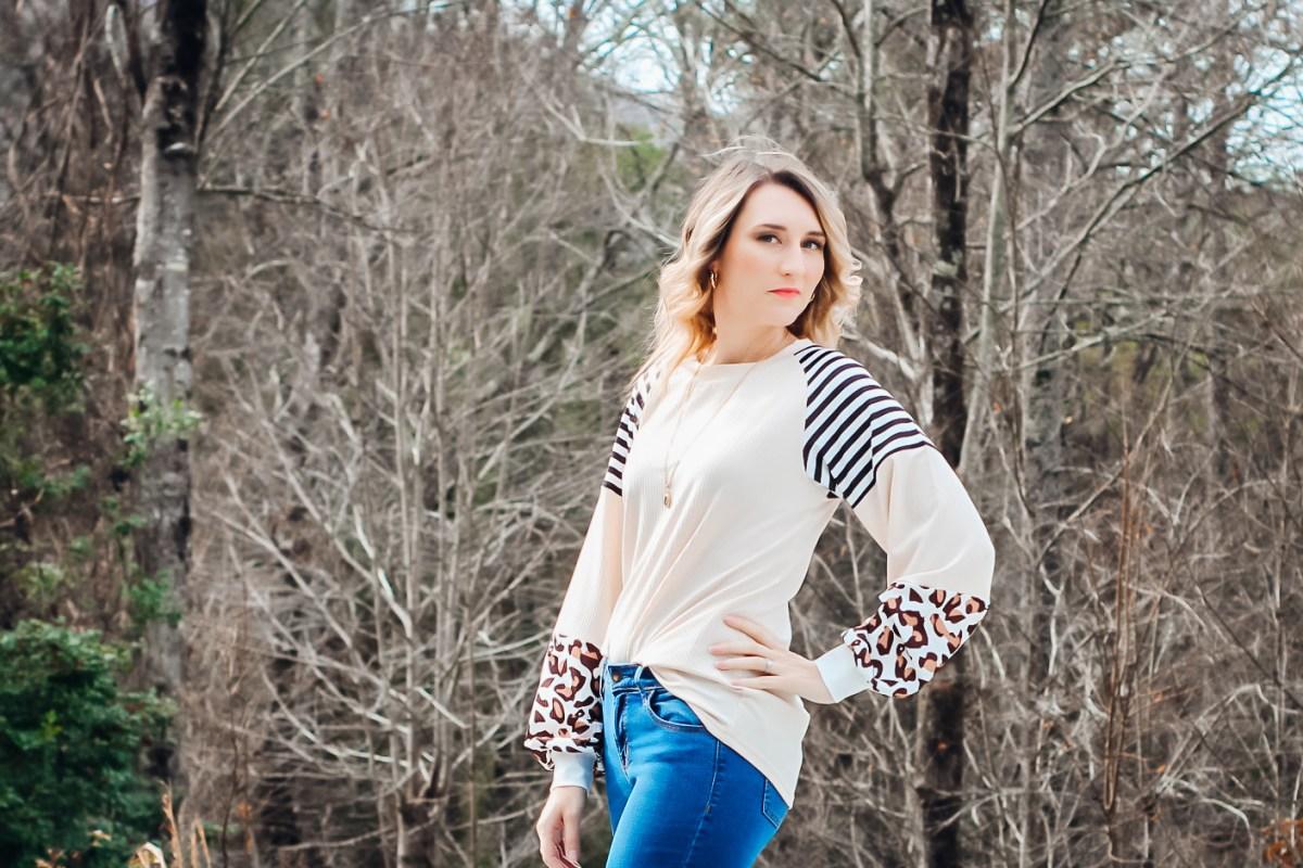 Leopard Blouse Amazon Fashion