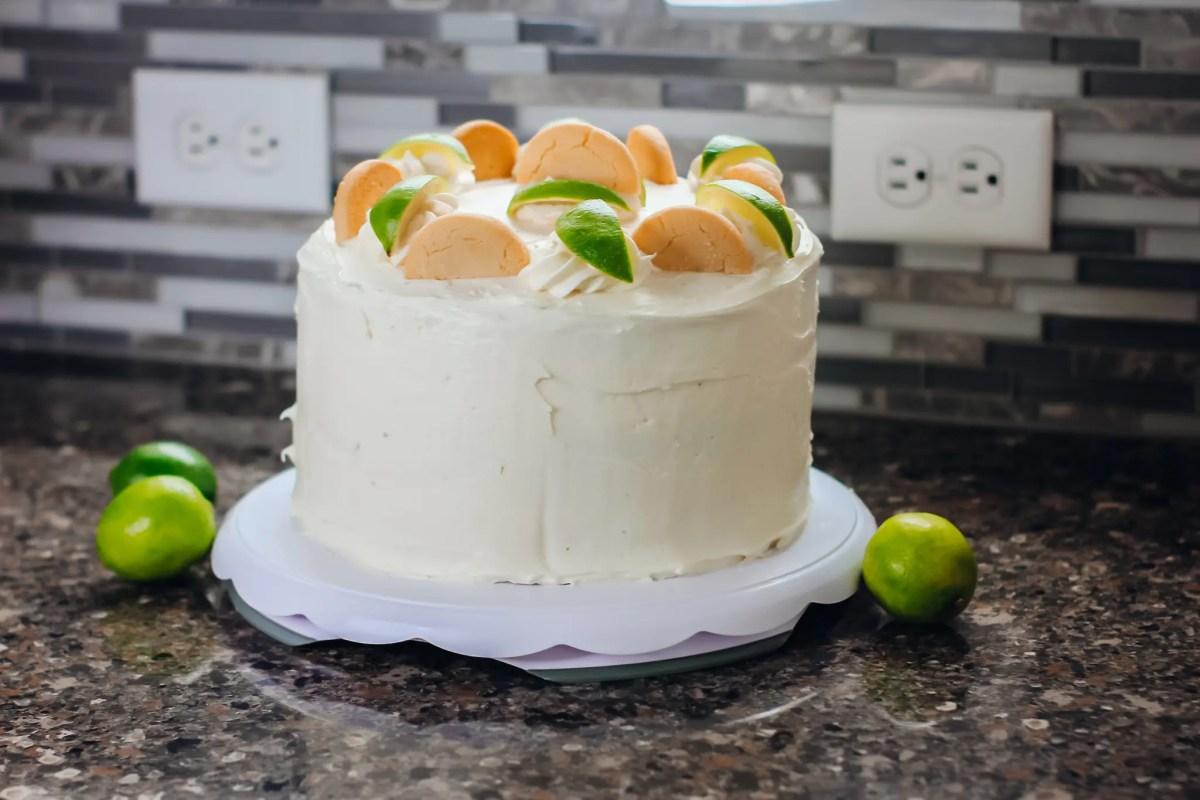 Key Lime Pie Cake Recipe   The Best Key Lime Pie Cake   Laura Mintz
