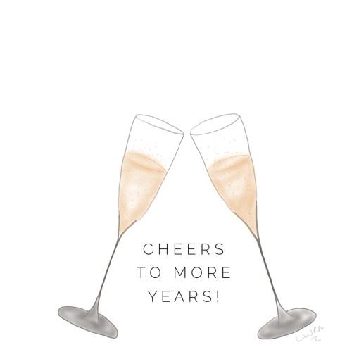Greeting Card: Cheers