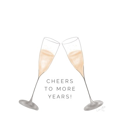 Greeting Card: Cheers