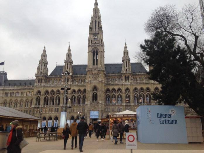 El ayuntamiento de Viena