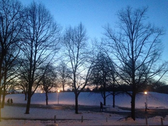 Nieve en Munich