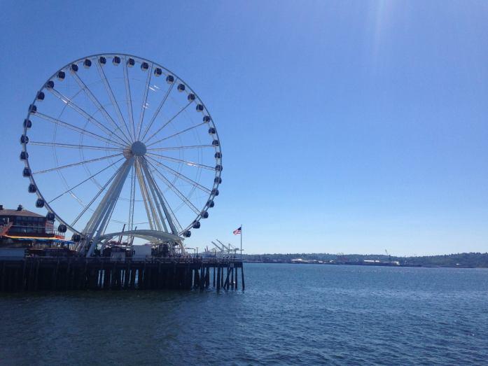 La costa de Seattle