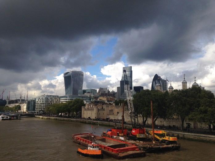 Así de loco es el clima en Londres!