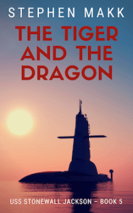 The Tiger and the Dragon - book cover design